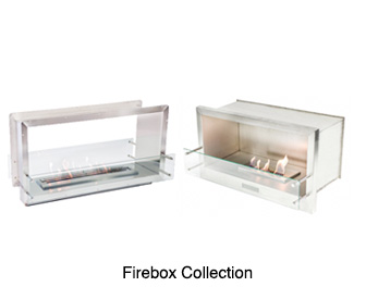 Firebox Ethanol Fireplaces