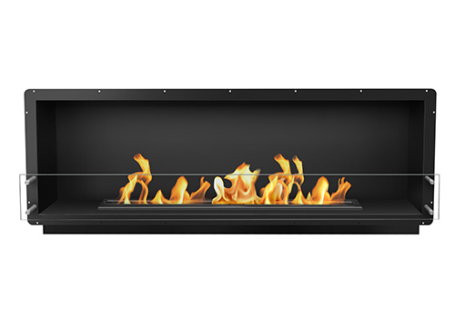 72 Quot Firebox Ss Single Sided The Bio Flame Top